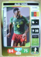 2014 PANINI CARD (NOT STICKER) FIFA SOCCER WORLD CUP ALEX SONG CAMEROUN - Panini