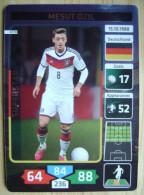 2014 PANINI CARD (NOT STICKER) FIFA SOCCER WORLD CUP MESUT OZIL GERMANY - Panini