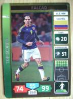 2014 PANINI CARD (NOT STICKER) FIFA SOCCER WORLD CUP FALCAO COLOMBIA - Panini