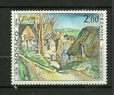 MONACO 1974    N° 971    La Maison Du Pendu Par Paul Cézane        NEUF - Unused Stamps