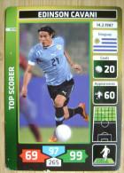 2014 PANINI CARD (NOT STICKER) FIFA SOCCER WORLD CUP EDINSON CAVANI URUGUAY - Andere