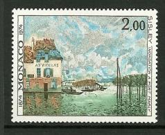 MONACO 1974    N° 972      Inondation à Port Marly Par Alfred Sisley         NEUF - Unused Stamps