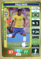 2014 PANINI CARD (NOT STICKER) FIFA SOCCER WORLD CUP PAULINHO BRASIL - Andere
