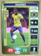 2014 PANINI CARD (NOT STICKER) FIFA SOCCER WORLD CUP RAMIRES BRASIL - Panini