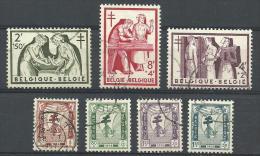 BELGIE 998/1004  GEST. ( YVERT ) COTE : 22 EURO - Used Stamps