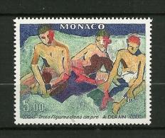 """MONACO  1980    N° 1244    Fauvisme  """"3 Figures Dans Un Pré""""         NEUF - Unused Stamps"""