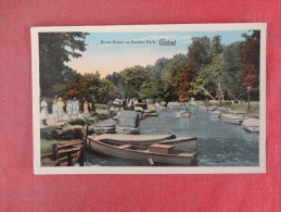 Ohio> Cleveland   River Scene in Gordon Park ref 1524