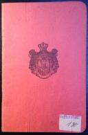Passport Kingdom Of SHS-Passeport-putn Isprava-delivre A Dusseldorf (74.) - Historical Documents