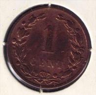 NEDERLAND 1 CENT 1900  Wilhelm III - [ 3] 1815-… : Royaume Des Pays-Bas