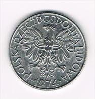 ¨ POLEN  5  ZLOTYCH  1974 - Polen