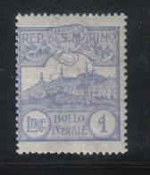 W2076 - SAN MARINO 1921 , Ordinaria N. 80  ***  MNH - Ongebruikt
