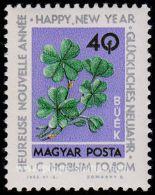 Hungary, Sc , SG 1957 Mint, Hinged - 1963 40fi.  - New Year, Postal, Philatelic, Funds - Hungary