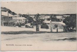 BERMUDA - Panorama Of St Georges (72423) - Bermudes