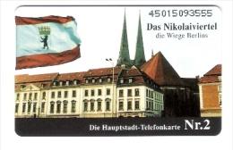 Germany - O074  01/95 - Berlin Nikolaiviertel - Voll - Deutschland