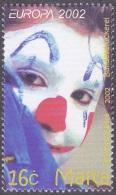 CEPT / Europa 2002 Malte N° 1186  ** Le Cirque - Europa-CEPT
