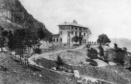CARTOLINA D�EPOCA DEL RIFUGIO ALBERGO CARLO PORTA ALLA GRIGNEETTA  VIAGGIATA 1907
