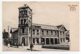 FIRE BRIGADE STATION TRINIDAD B.W.I - Vierges (Iles), Amér.