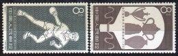 CHINA - KINA - C99 - SPORT - TABLE TENNIS In PRAG - Mi.739/40 - **MNH - 1963 - Nuovi