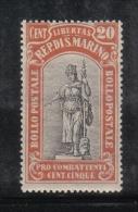 W2121 - SAN MARINO 1918 , Il N. 57 ***  MNH - Ongebruikt