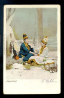 SWEDEN LAPLAND LAPPLAND SAMI SAAMI IN TRADITIONAL COSTUMES SENT IN 1902 - Svezia