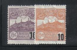 W2149 - SAN MARINO 1941 , Serie N. 213/214 *** MNH - Ungebraucht