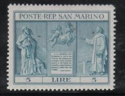 W2151 - SAN MARINO 1937 , Serie N. 210  ***  MNH - Ungebraucht
