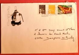 Lettre De Plozévet (29) Vers Dampierre En Burly (45) Timbre YT 3652 De 2004 - Lettres & Documents