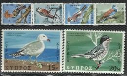 Cyprus 1969 Birds MNH Set - Unclassified
