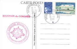 CP CONGRES NATIONAL DES ANCIENS DES SOUS MARINS  PONCELET A.G.A.A.S.M.21/4/2001 - Scheepspost