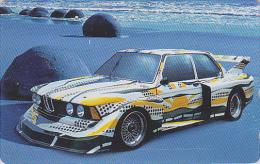 Rare Télécarte Japon - VOITURE RALLYE BMW / Série 2-12 - RALLY CAR Japan Phonecard / GERMANY - AUTO Telefonkarte - 2200 - Auto's