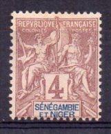 Sénégambie Et Niger N°3 Neuf Sans Gomme - Sénégambie Et Niger (1903-1906)