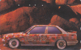 RARE Télécarte Japon - VOITURE RALLYE BMW / Série 12-12 - RALLY CAR Japan Phonecard / GERMANY - AUTO Telefonkarte - 2210 - Cars