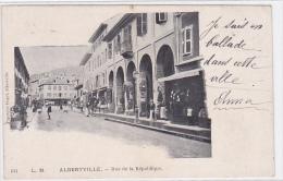 France - Albertville - Rue De La Republique - Albertville