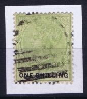 Lagos Nigeria Mi Nr 28 Used  One Shilling - Nigeria (...-1960)