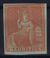 Mauritius 1858 Mi Nr III   Yv 16 Signed/ Signé/signiert/ Approvato - Mauritius (...-1967)
