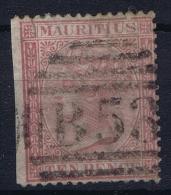 Mauritius 1863 Mi 34 Used 1 Side Imperforated - Mauritius (...-1967)
