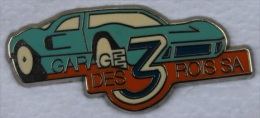 GARAGE DES TROIS ROIS SA - HUGUENIN LE LOCLE   -               (11) - Badges