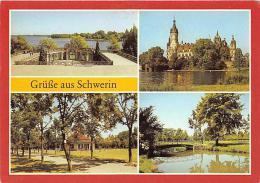 Schwerin - Mehrbildkarte AK 22