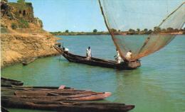 pecheurs sur le lac tchad