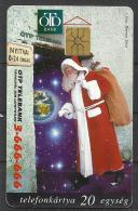 Hungary,  O.T.P.  Bank, Santa  Claus, 1997.