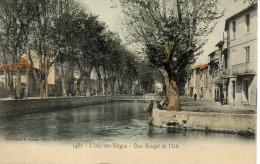 L´Isle Sr Sorgue  - Le Quai Rouget De L'Isle - L'Isle Sur Sorgue