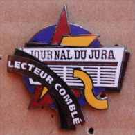 JOURNAL DU JURA - SUISSE - LECTEUR COMBLE   -            (11) - Mass Media