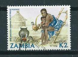 1981 Zambia Traditional Life 2K Used/gebruikt/oblitere - Zambie (1965-...)
