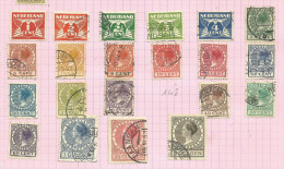 Pays-Bas N°133 à 147, 149 à 153 Cote 25 Euros - 1891-1948 (Wilhelmine)
