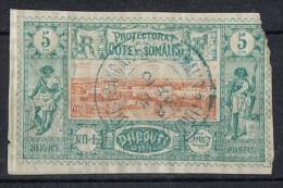COTE DES SOMALIS  Obl 9 - Costa Francese Dei Somali (1894-1967)