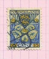 Pays-Bas N°189 Cote 8 Euros - 1891-1948 (Wilhelmine)