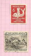 Pays-Bas N°225, 228 Cote 4.90 Euros - 1891-1948 (Wilhelmine)