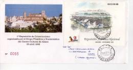2180  Carta Alaior Baleares 1992  HB Exfilna91 - 1991-00 Storia Postale