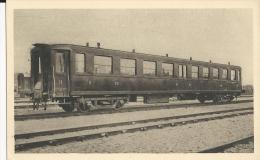 Carte Postale  : Voiture Métallique Mixte De 2 éme Et 3éme Classe Chemin De Fer éditée Par La Cie D´Orléans - Trains