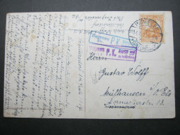 1917, INGWEILER  , Carte Postale , Censuree - Alsace-Lorraine